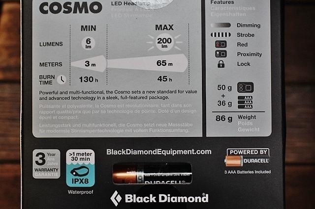 Black Diamond Cosmo Headlamp