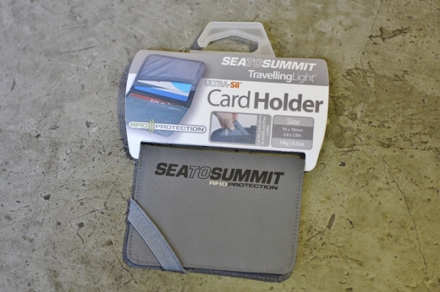Sea to Summit TravellingLight™ RFID Card Holder