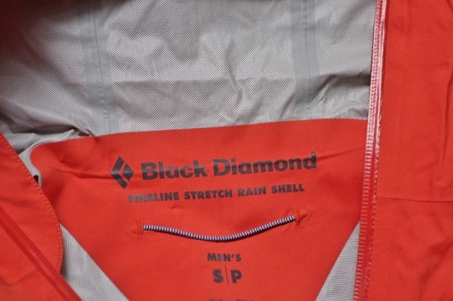 Black Diamond FineLine Stretch Rain Shell