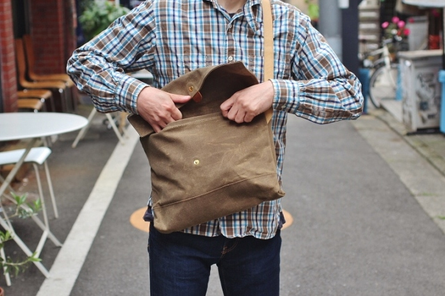 Archival Clothing Flap Musette