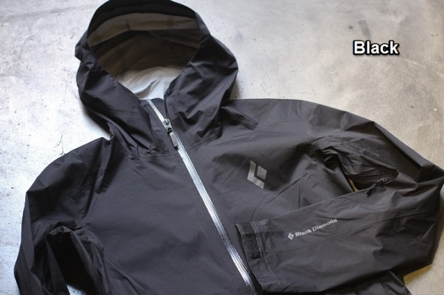 Black Diamond StormLine Stretch Rain Shell