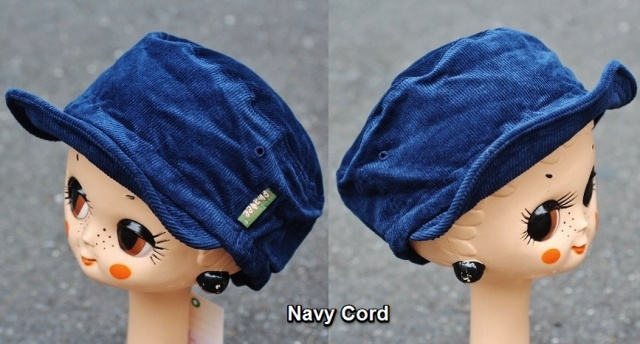 Phatee Cord Half Cap