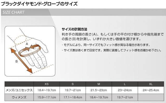 Black Diamond Glove