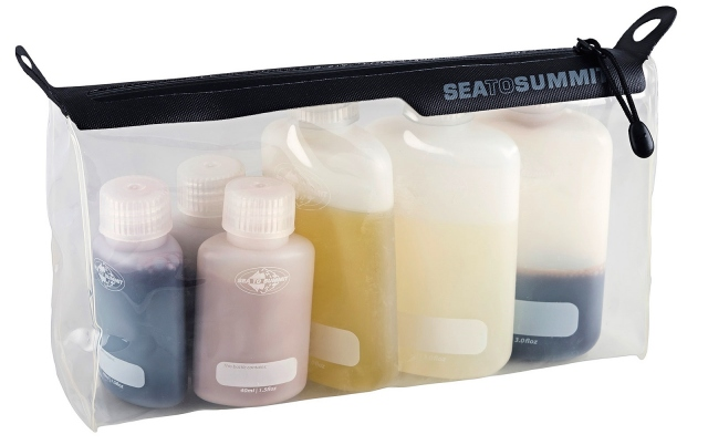 Sea to Summit TravellingLight TPU Clear Zip Pouch with Bottles