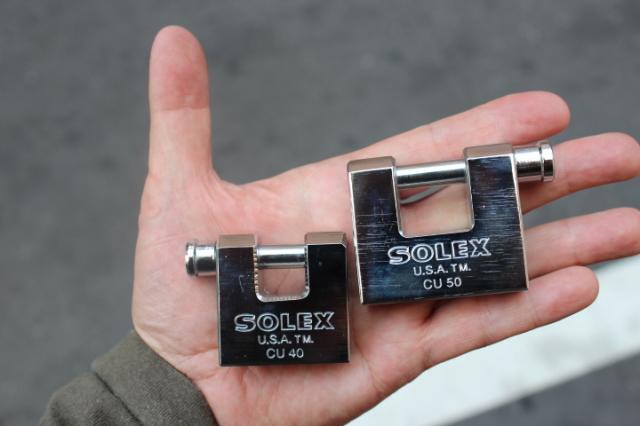 SOLEX Heavy Duty Padlock