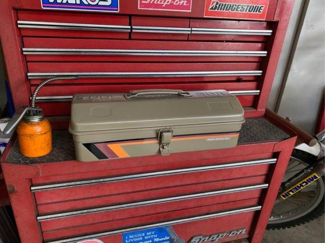 東洋スチール 山型工具箱 Y350 クラシックカスタム