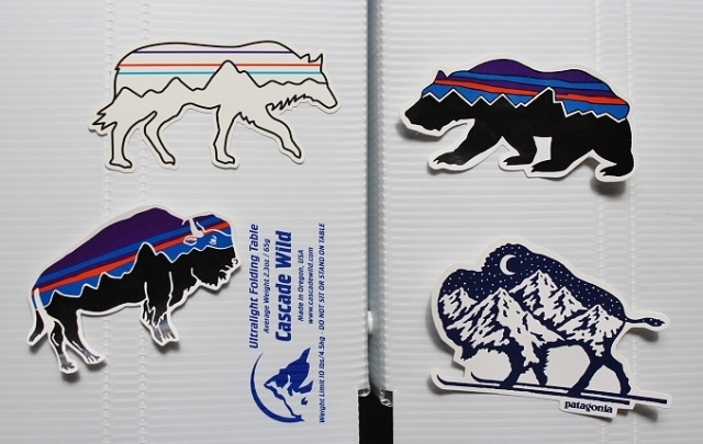 PATAGONIA Sticker Set