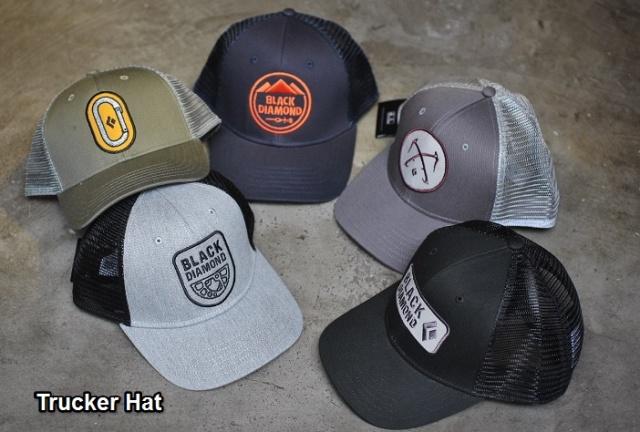 7371b86fb89bf Black Diamond Flat Bill Trucker Hat & BD Trucker Hat BOZEMAN