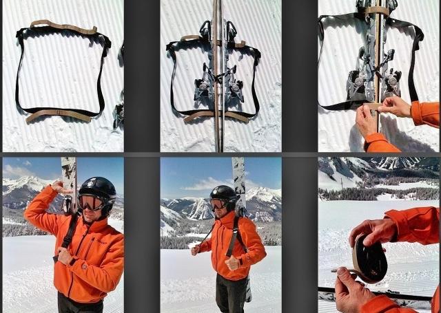 Mountain Goat Ski Tote