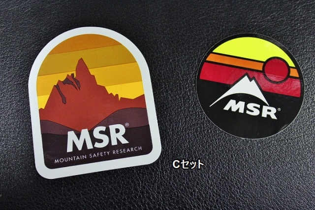 MSR ステッカー色々