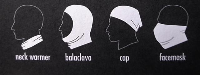 PATAGONIA Capilene Cool Daily Sun Mask